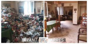 débarras appartement syndrome de diogène sur Marseille